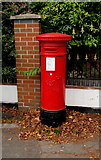 SO8317 : Victorian pillarbox, Stroud Road, Gloucester by Jaggery
