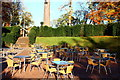 NS5320 : The Coach House Cafe, Outdoor Tables by Billy McCrorie