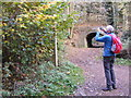 SO8992 : Photographing a Robin by Gordon Griffiths