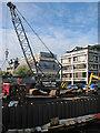 TL4458 : A crane at Queens' College by John Sutton