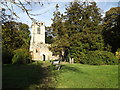 TL1916 : Ayot St Lawrence Old Church by Adrian Cable