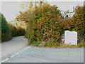 SX2677 : Unusual milestone near High Park Lodge by Rod Allday