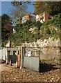 SX9364 : Garage site, Ilsham Road, Wellawood by Derek Harper
