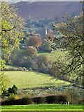SK2381 : In The Hood Brook Valley, Hathersage by Neil Theasby