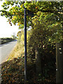 TL2015 : Bridleway sign off Codicote Road by Adrian Cable