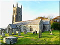 SX2780 : The Church of St Martin in Lewannick by Rod Allday