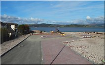 NS2577 : Site of Greenock Navy Buildings by Lairich Rig