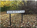 TL1415 : Marquis Lane sign by Adrian Cable