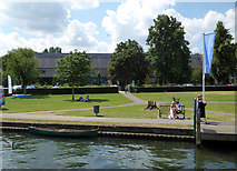 SU7682 : River & Rowing Museum - Henley-on-Thames by Chris Allen