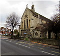 SO8317 : East side of the Church of St Paul and St Stephen, Gloucester by Jaggery