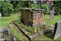 TQ5243 : Overgrown tomb by N Chadwick