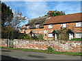 TG3315 : Cottages in Horning Road, Woodbastwick by Evelyn Simak