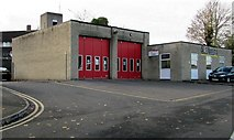 ST5393 : Chepstow Fire Station, Regent Way, Chepstow by Jaggery