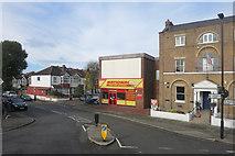 TQ1779 : Church Lane, Ealing by Des Blenkinsopp