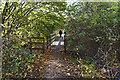 SD8002 : A footbridge in Drinkwater Park by Ian Greig