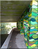 TR1457 : Rheims Way Underpass, Canterbury by pam fray