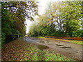 SJ8945 : Footpath between Fenton Park and Cemetery by Jonathan Hutchins