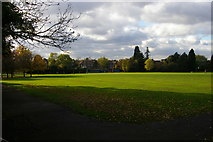 TQ2487 : Basing Hill Park from the eastern corner by Christopher Hilton