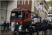 TQ3281 : View of the Worshipful Company of Water Conservators in the Lord Mayor's Parade from Gresham Street by Robert Lamb
