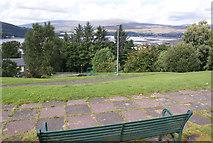 NN1073 : Small park, Fort William by Richard Dorrell