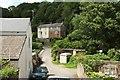 SX9166 : Lane past Coombe Park Cottages, Combe Pafford by Derek Harper