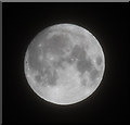 "TQ2995 : ""Supermoon"", London N14 by Christine Matthews"