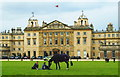 ST8083 : Badminton House, Gloucestershire 2008 by Ray Bird