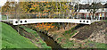 J3673 : New footbridge, Knock River, Belfast - November 2016(1) by Albert Bridge