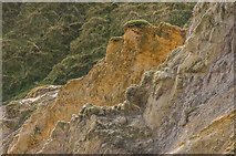 SY8080 : Eroding slope, Man o'War Cove by Ian Capper