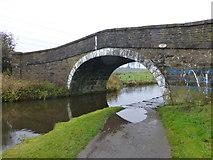 SD7130 : Bridge near Cut Farm on the Leeds Liverpool Canal by Raymond Knapman