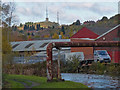 SO9686 : Pipebridge across the Dudley No.2 Canal by Mat Fascione