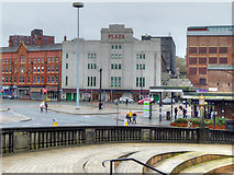 SJ8990 : Mersey Square and The Plaza by David Dixon