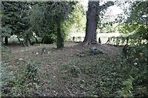 SP5206 : Cleared Area of the Churchyard by Bill Nicholls