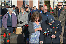 ST0207 : Cullompton : Armistice Memorial by Lewis Clarke