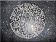 TF5617 : Tilney All Saints Parish Church: ledger slab (2) by Basher Eyre