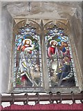 TF5617 : Tilney All Saints Parish Church: stained glass window by Basher Eyre