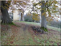 SO8843 : The Park Seat, Croome Park by Philip Halling
