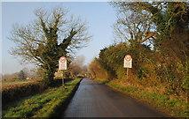 ST8180 : Littleton Drew Lane, Acton Turville, Gloucestershire 2014 by Ray Bird