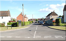ST8180 : Chapel Lane, Acton Turville, Gloucestershire 2014 by Ray Bird