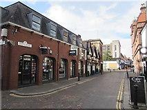 SJ3350 : Church Street, Wrexham by Jaggery