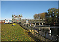 TL3170 : St Ives lock and weir by John Sutton