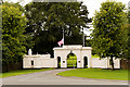 O1135 : The Gates to the Deerfield Residence, Phoenix park by David Dixon