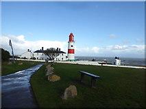 NZ4064 : Souter Lighthouse near South Shields by Jeremy Bolwell