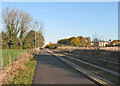 TL4555 : On the busway in November by John Sutton