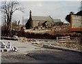 SS8983 : Llansantffraid church Aberkenfig March 1981 by Colin Prosser
