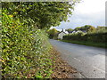 SO4908 : Road (B4293) near the former Gocket Inn by Peter Wood