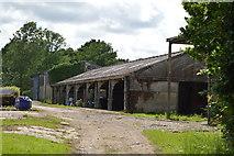 TQ5043 : Barn, Wat Stock by N Chadwick