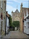 TQ9220 : West Street, Rye by Philip Halling