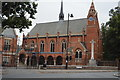 TQ2887 : Highgate School Chapel and War Memorial by N Chadwick