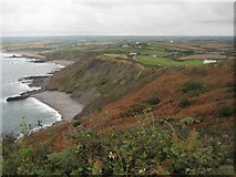 SS1900 : The view north from Penhalt Cliff by Philip Halling